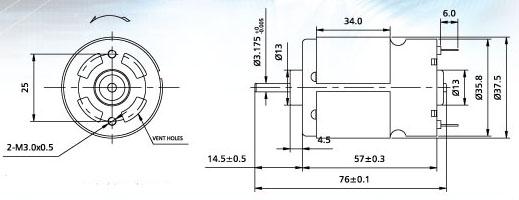 555直流电机调速电路图